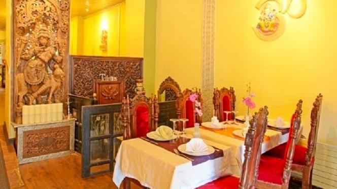 Vue de la salle - Villa Darjeeling, Paris