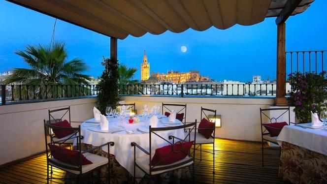 Vista terraza - El Mirador de Sevilla - Hotel Vincci La Rábida, Sevilla