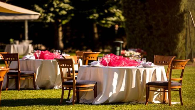 Terrazza e giardino - Dea del Parco, Rome