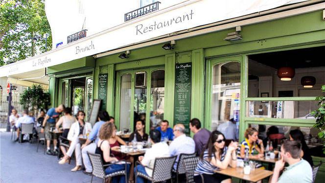 La terrasse - Le Papillon, Paris