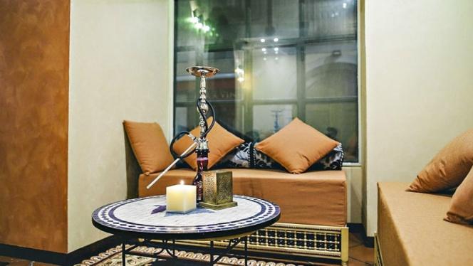 Vista sala 1 - Noor Shisha Lounge Brera, Milan