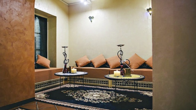 Vista sala 2 - Noor Shisha Lounge Brera, Milan