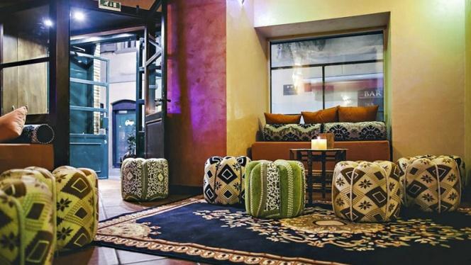 Vista sala 3 - Noor Shisha Lounge Brera, Milan