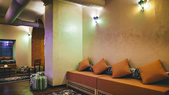 Vista sala 4 - Noor Shisha Lounge Brera, Milan