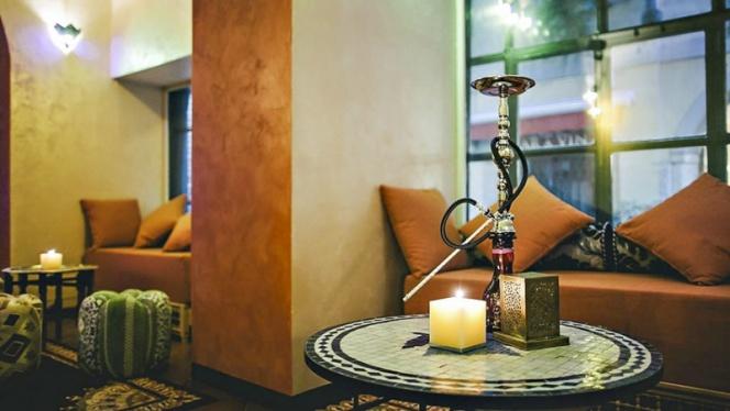 Vista sala 5 - Noor Shisha Lounge Brera, Milan