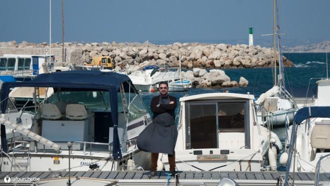 Le chef - Le Nautica Des Goudes, Marseille