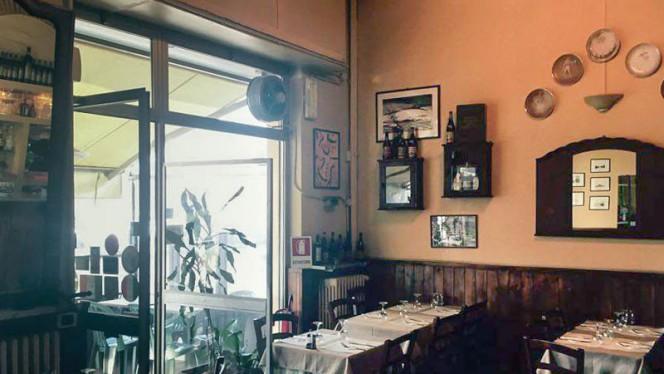 Vista sala - Trattoria Emanuela, Milano