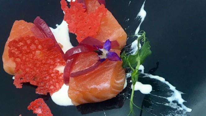 Saumon Gravalax et sauce au raifort - Wee An, Lyon