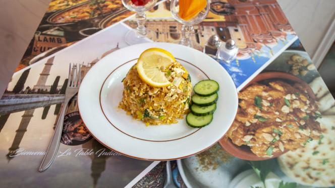 Suggestion du chef - La Table Indienne, Toulouse