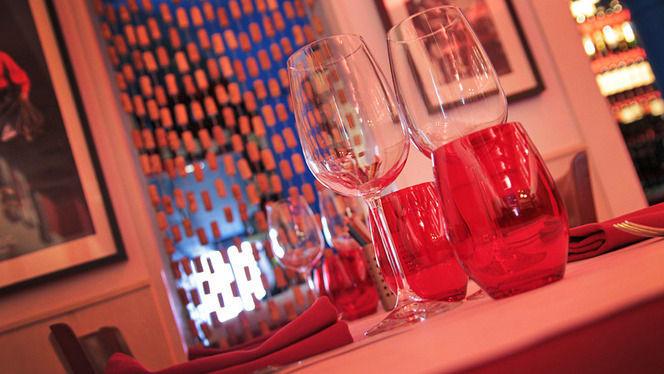 Detalle decoración de mesa - L'Osteria del Contadino, Barcelona