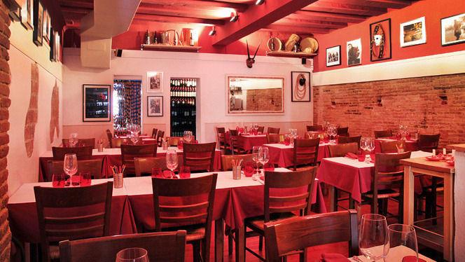Sala principal - L'Osteria del Contadino, Barcelona