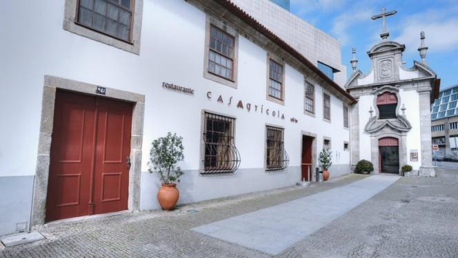 Fachada - Casa Agrícola, Porto