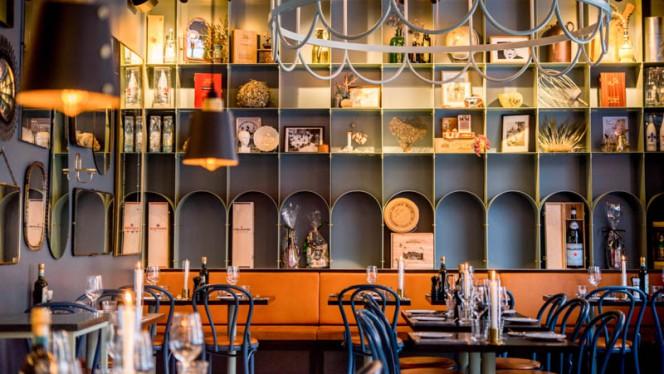 Restaurangens salong - Deli Di Luca, Stockholm