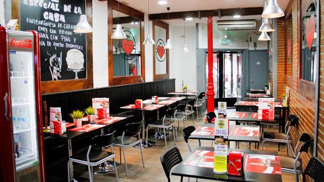 Salón - Burger Lovers Madrid, Madrid