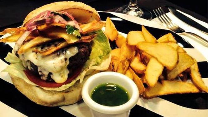 Detalle hamburguesa - Burger Lovers Madrid, Madrid