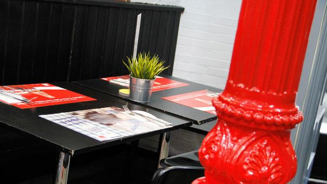 Detalle interior - Burger Lovers Madrid, Madrid