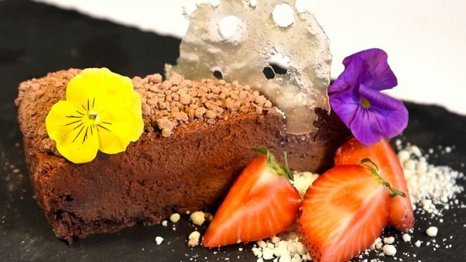 Lækker dessert - Brasserie og restaurant NO76 ApS, Aalborg