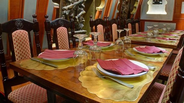 Tables dressées - Kamala Inde, Paris