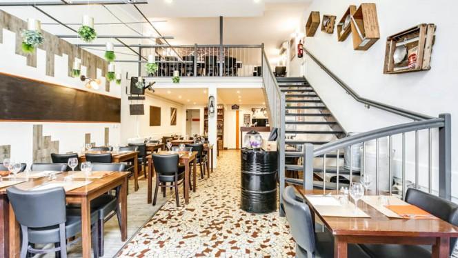 Salle du restaurant - Au Réservoir, Lyon