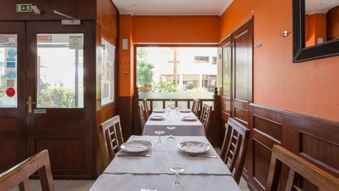 Sala do restaurante - O Camões, Lisboa