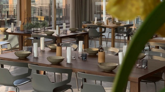Het restaurant - Restaurant Gary Loen, Amsterdam