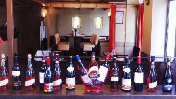 Zoom sur le bar - La Squadra, Lyon