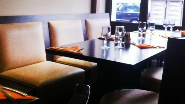 Tables dressées - La Squadra, Lyon