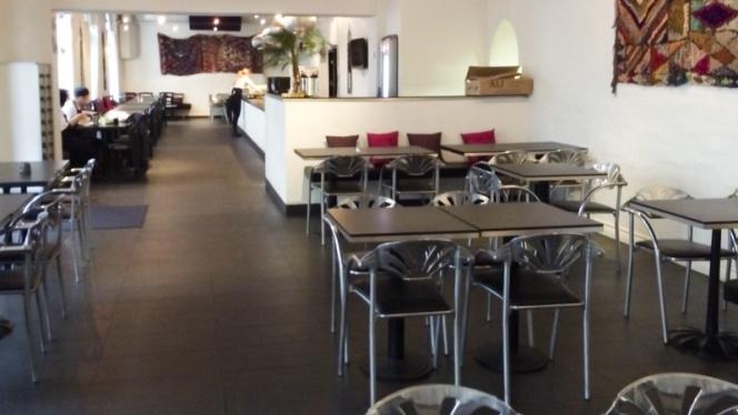 Dining room view - Laziza, Malmö
