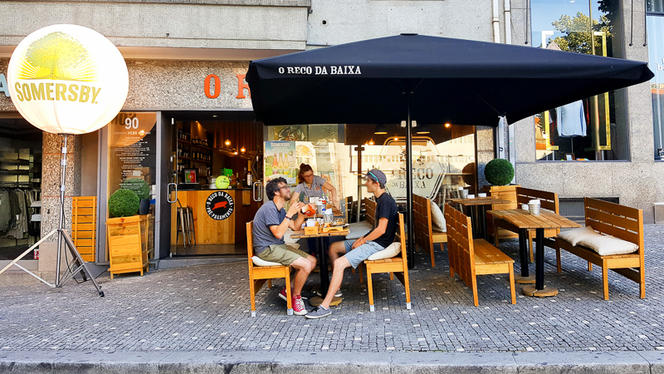 Esplanada - O Reco, Porto