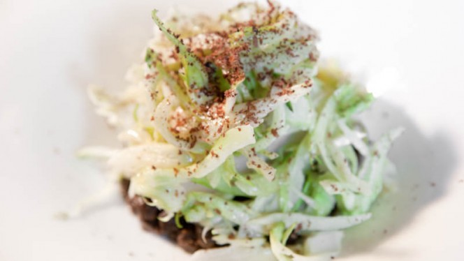 Baccalà, lenticchie e puntarelle - Le Scodelle, Turin