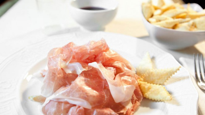 Culaccia e gnocco fritto - Le Scodelle, Turin