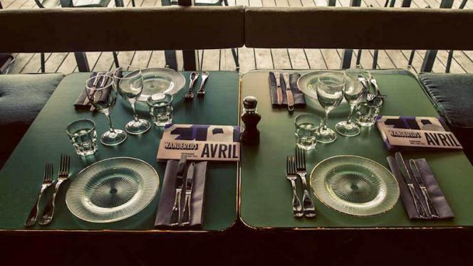 Détail table - Wanderlust, Paris