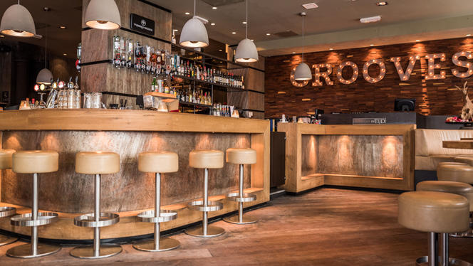 Vue de la salle - De Tijd Bar & Grill, Den Haag