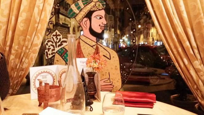 Particolare tavolo - Maharajah, Rome