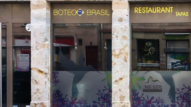 Devanture - Le Pain de Sucre - Boteco (bar à tapas), Lyon