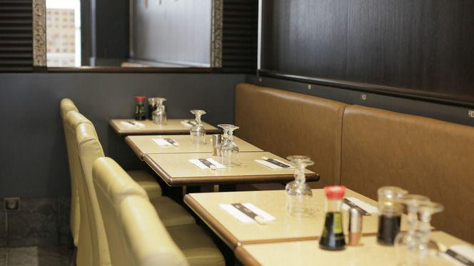 Tables dressées - Japorama, Paris