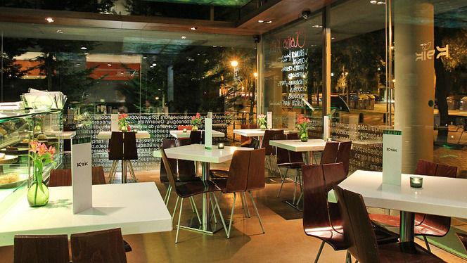 Interior - Keik Café, Barcelona