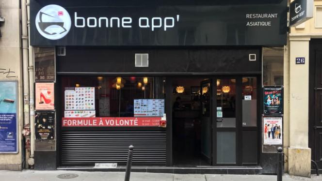 Devanture - Bonne App', Paris
