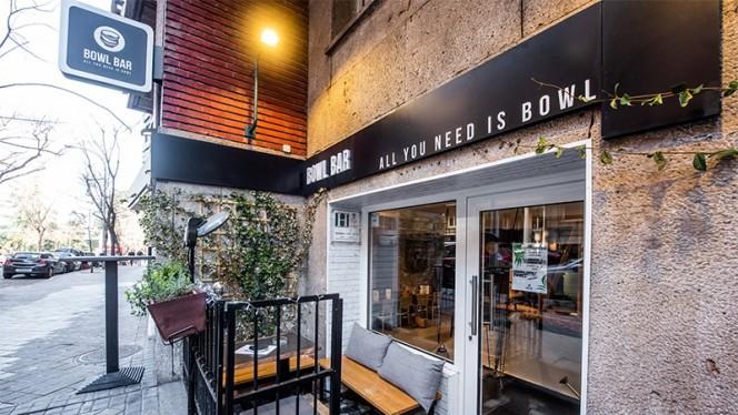 Entrada - Bowl Bar, Madrid