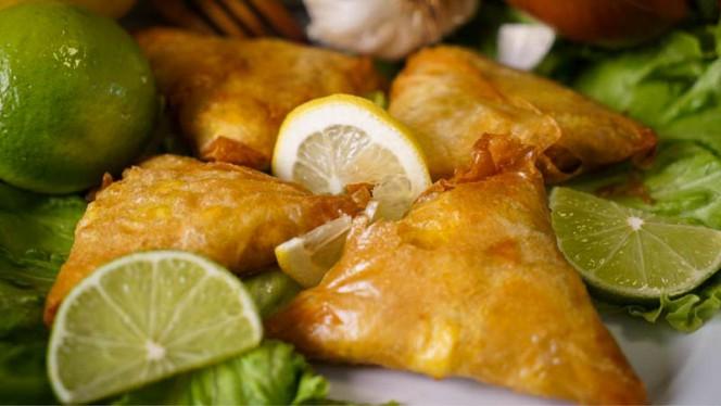 Briwat de pollo o marisco - Zahara, Madrid