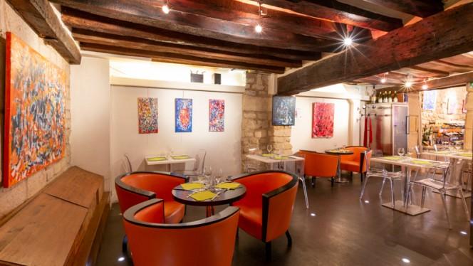 Salle du restaurant - Grains Nobles et Plus..., Paris