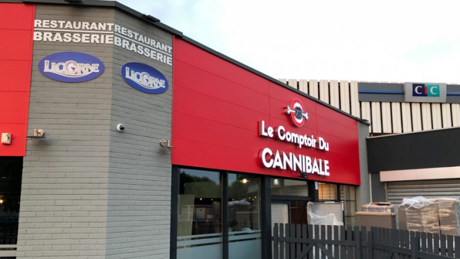 Restaurant - Le Comptoir du Cannibale, Schiltigheim