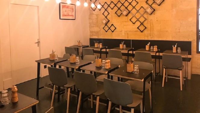 Salle du restaurant - Zinzin, Bordeaux