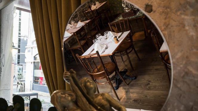 Tables dressées - Chez Arsène, Genève