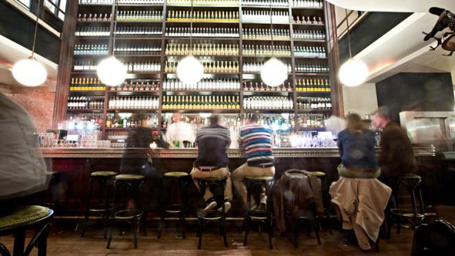 Restaurantzaal - Dante Kitchen & Bar, Amsterdam