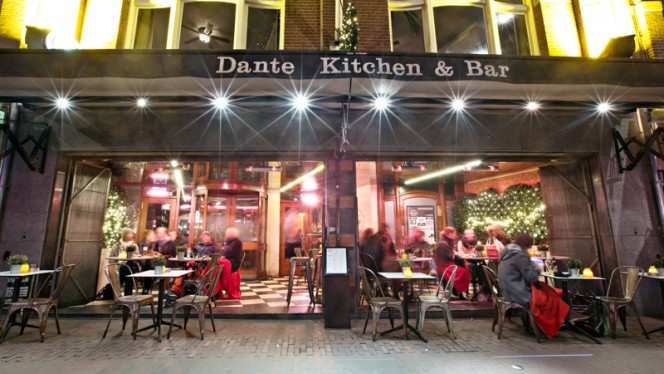 Terras - Dante Kitchen & Bar, Amsterdam
