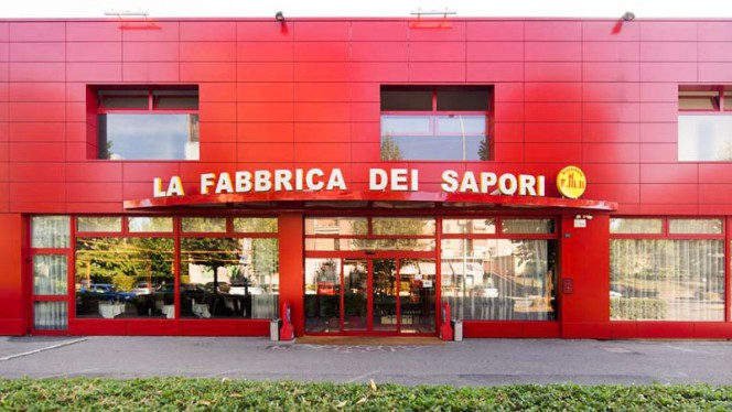 Facciata del ristorante - La Fabbrica dei Sapori,