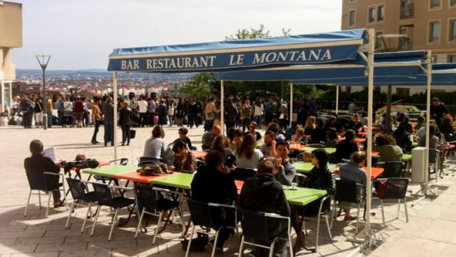 Terasse exterieure - Le Montana, Lyon