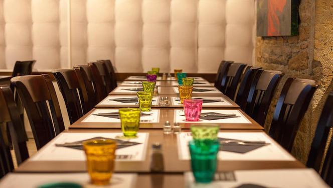 Table dressée - La Nonna, Lyon