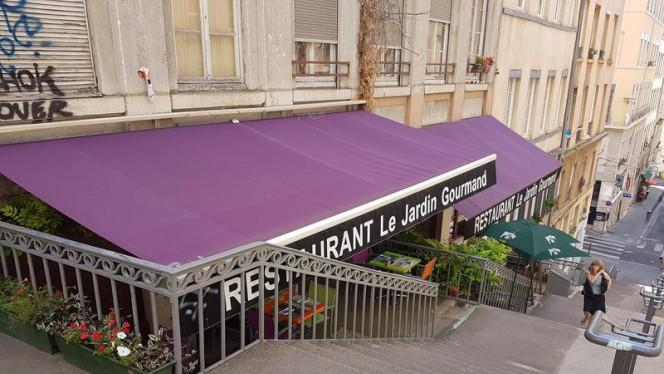 Les terrasses du restaurant - Le Jardin Gourmand, Lyon